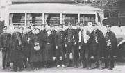 室中バス通学生(昭和13年)